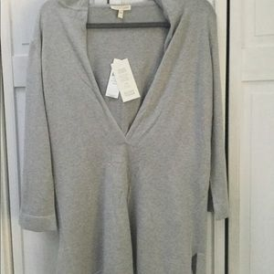 Eileen Fisher cotton & cashmere tunic - NWT / XS